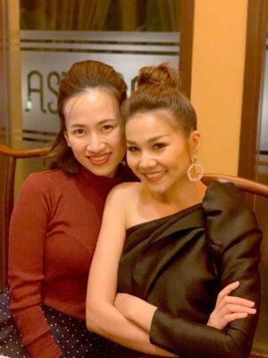 Bác sĩ Tô Lan Phương và siêu mẫu Thanh Hằng